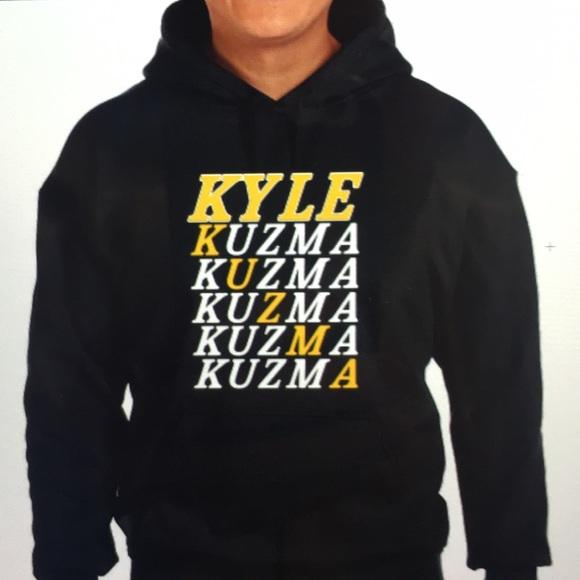 finest selection 3bbbf f044c Los Angeles Lakers Kyle Kuzma Shirt NWT